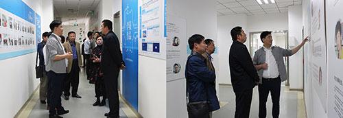 郑科院领导班子参观云和学院教学环境
