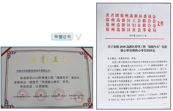 配图5 领导们为云和数据荣誉证书.jpg